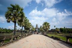 Angkor Wat at Siem Reap, Cambodia Royalty Free Stock Photography