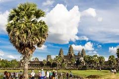 Angkor Wat at Siem Reap Stock Photography