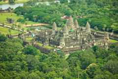 Angkor wat siem reap cambodia kingdom of wonder. Angkor Wat is the most famous of the Angkorian temples. Back in the twelfth century when it was built by King Royalty Free Stock Photography