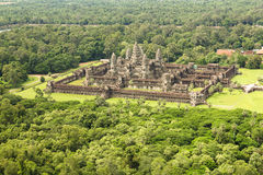 Angkor wat siem reap cambodia kingdom of wonder. Angkor Wat is the most famous of the Angkorian temples. Back in the twelfth century when it was built by King Royalty Free Stock Photo
