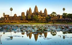 Angkor Wat, Siem reap, Cambodia. Royalty Free Stock Photos