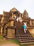 Angkor Wat in Siem Reap, Cambodia. Royalty Free Stock Image