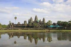 Angkor Wat, Siem Reap, Cambodja Fotografering för Bildbyråer