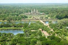 Angkor Wat Siem Reap Kambodja kungarike av under Royaltyfri Foto