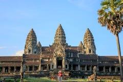 Angkor Wat, Siem Reap, Kambodscha stockfotos