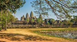 Angkor Wat, Siem Reap, Kambodscha Lizenzfreies Stockbild