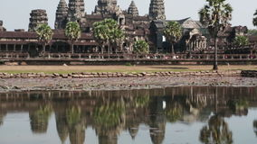 Angkor Wat, Siem Reap, Kambodscha, stock video footage