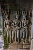 Angkor Wat, Siemreap, Καμπότζη Στοκ Φωτογραφίες