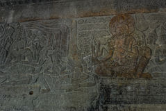 Angkor Wat Siemreap, Cambodja Arkivfoto
