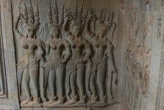 Angkor Wat Siemreap, Cambodja Royaltyfria Foton