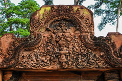 Angkor Wat Siemreap, Cambodja Arkivbilder