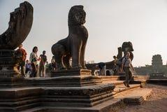Angkor Wat, Siemreap, Camboya fotografía de archivo