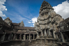 Angkor Wat. Some part of architecture in Angkor Wat Stock Photo