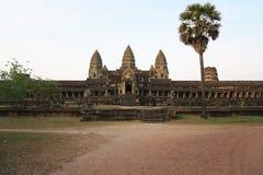 Angkor Wat South Gallery in Siem oogst, Kambodja stock afbeeldingen