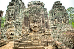 Angkor Wat Statues Fotografie Stock