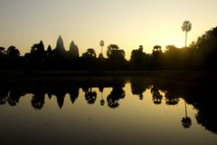 Angkor Wat Sun Stock Photos