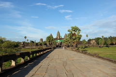 Angkor wat  in sunny day Stock Image