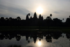 Angkor Wat sunrise Royalty Free Stock Photos
