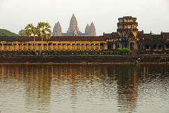Angkor Wat at sunrise Stock Image