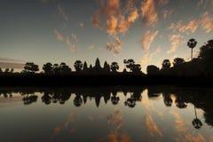 Angkor Wat sunrise Royalty Free Stock Photos