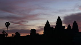 Angkor Wat sunrise Royalty Free Stock Image