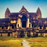 Angkor Wat at sunrise. Siem Reap. Cambodia stock image