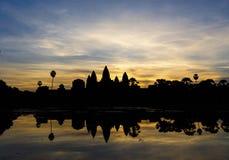 Angkor Wat sunrise at Siem Reap. Cambodia Royalty Free Stock Images