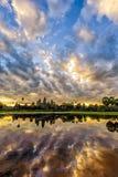 Angkor Wat in sunrise Royalty Free Stock Photos