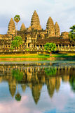 Angkor Wat at sunset, cambodia. Stock Images