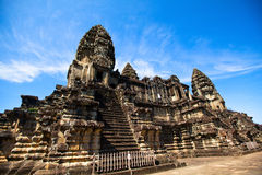 Angkor Wat - symbol of Cambodia Royalty Free Stock Images