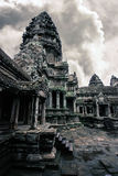 Angkor Wat. Taken at the top of one of Angkor Wats five central towers Royalty Free Stock Image