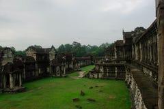 Angkor Wat tarasu teren Zdjęcie Royalty Free
