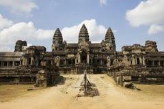 Angkor Wat Tempel lizenzfreie stockbilder