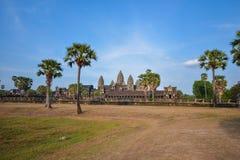Angkor Wat tempel royaltyfri foto