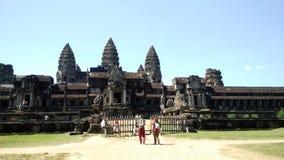 Angkor Wat tempel royaltyfri fotografi