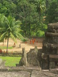 Angkor Wat Tempel Lizenzfreie Stockfotos