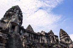 Angkor Wat - tempel Cambodja för Ta Keo Fotografering för Bildbyråer