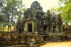 Angkor Wat Tempel En khmercivilisation för den cambodia för angkoren skördar banteay lotuses laken siemsreytempelet Turism i Camb Royaltyfri Bild