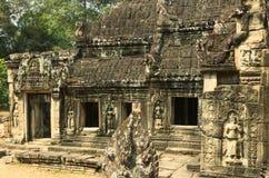 Angkor Wat Tempel Khmer beschaving Siem oogst Angkor Toerisme in Kambodja Stock Foto