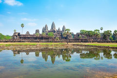 Angkor Wat Tempel, Siem Reap, Kambodscha stockbild