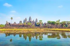 Angkor Wat Tempel, Siem Reap, Kambodscha stockbilder