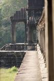 Angkor Wat tempelkomplex Fotografering för Bildbyråer