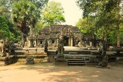 Angkor Wat Tempio Civilizzazione khmer La Cambogia Turismo in Cambogia Fotografia Stock Libera da Diritti