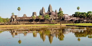 Angkor Wat temple. Near Siem Reap in Cambodia Royalty Free Stock Photo