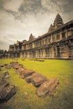 Angkor Wat Temple Stock Photo