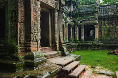 Angkor Wat temple Royalty Free Stock Images