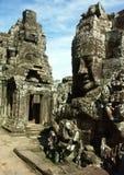 Angkor Wat temple. Cambodia temples - angkor wat - tourist site Stock Photo