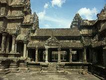 Angkor Wat temple Royalty Free Stock Image
