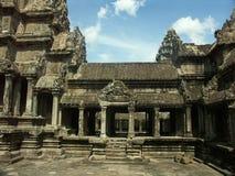 Angkor Wat temple. Cambodia temples - angkor wat - tourist site Royalty Free Stock Image