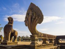 Angkor Wat Temple. In Cambodia royalty free stock image